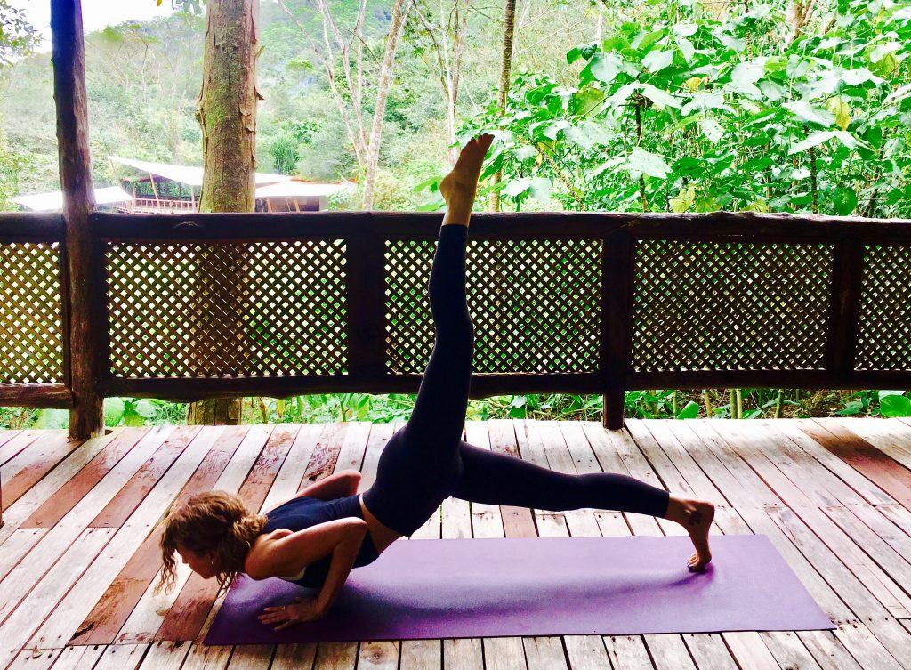 Erinn Weatherbie Costa Rica Yoga