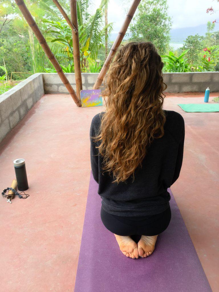 Erinn Weatherbie Yoga Costa Rica Arenal