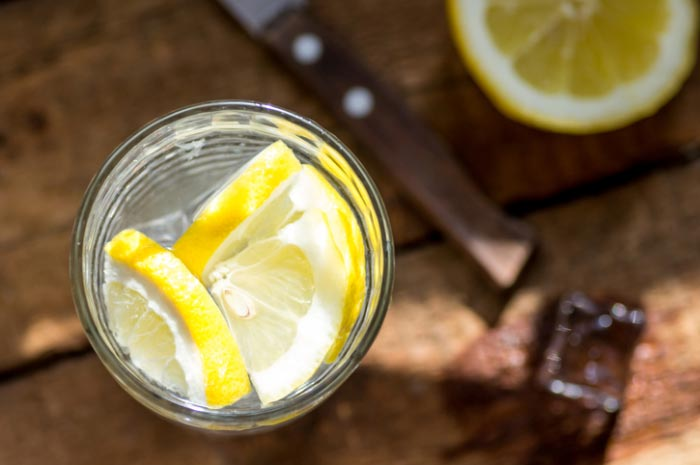 Lemon Water for Plant Based Diet